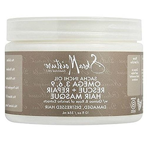 SheaMoisture Sacha Inchi Oil Omega-3-6-9 Rescue & Repair Hai