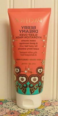 PACIFICA BERRY DREAMY SLEEP OVER HYDRATION HAIR MASK 6 OZ.