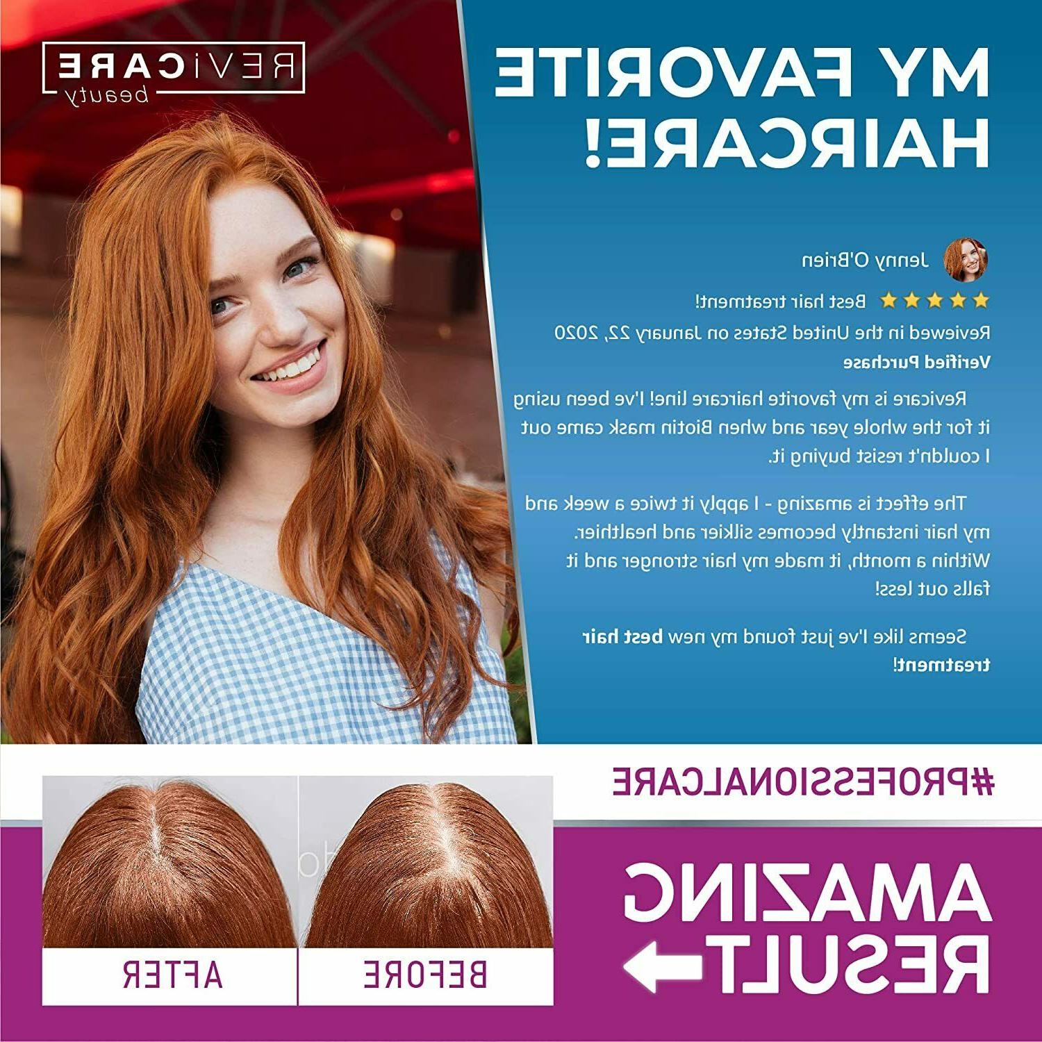 Biotin and Collagen Mask for Dry and Growth in USA