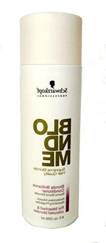 Schwarzkopf Professional Blond Me Supreme Brilliance Conditi