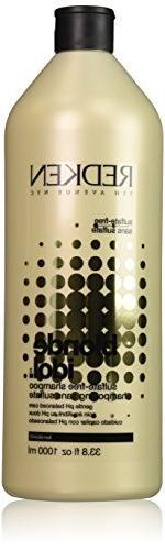 Redken Blonde Idol Sulfate-Free Shampoo for Unisex, 33.8 Oun