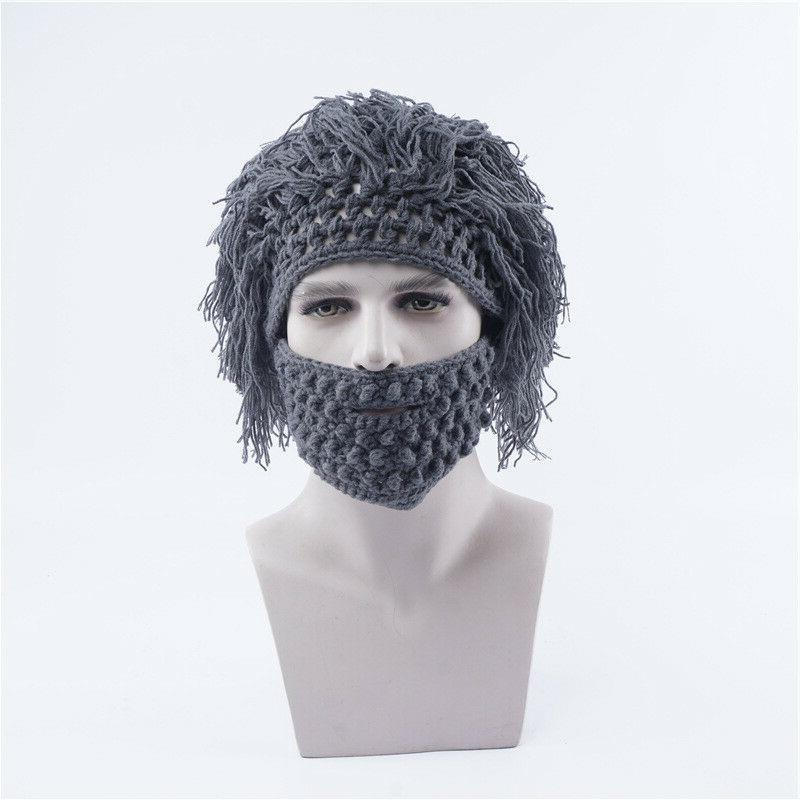 Wool Mask With Wig Outdoor