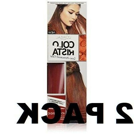 L'Oreal Paris Colorista Semi-Permanent for Brunette Hair, #T