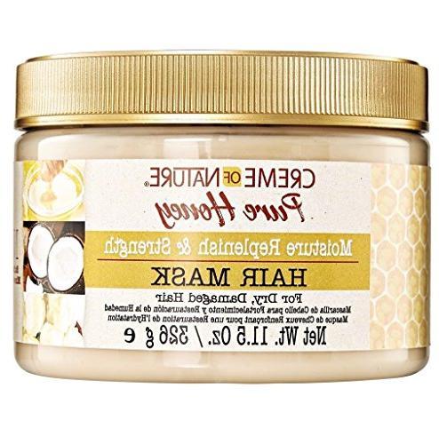 creme honey moisture replenish strengthening