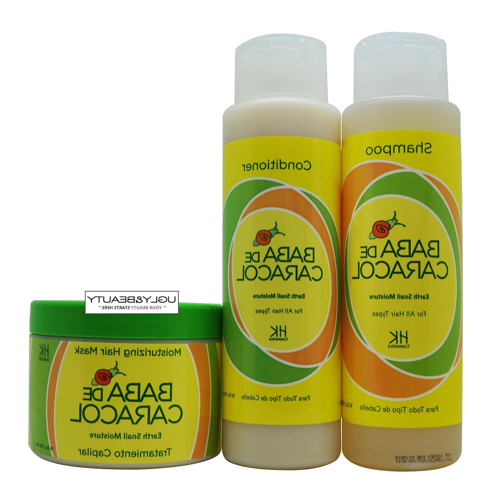 earth snail moisture shampoo conditioner and hair