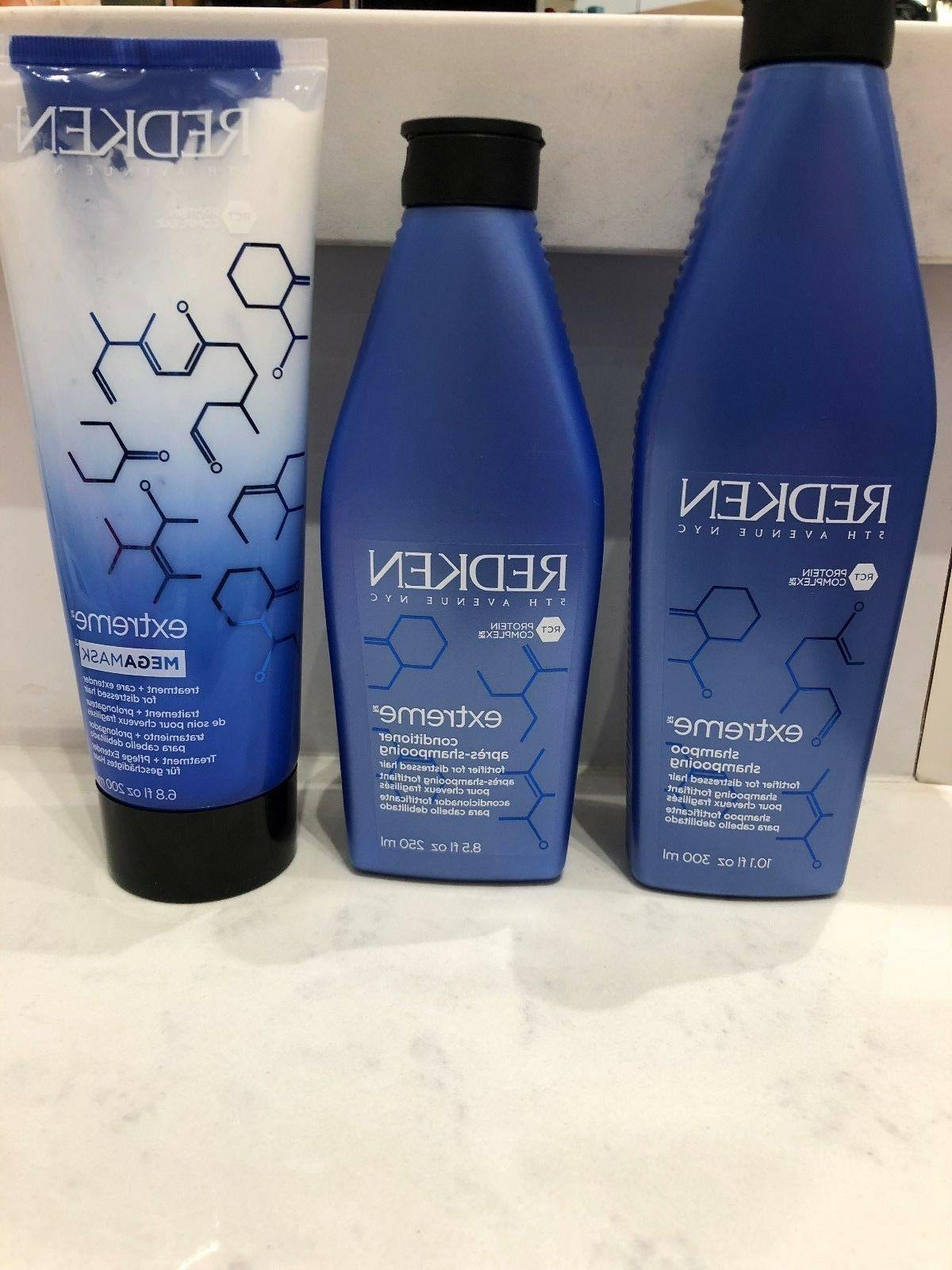 extreme hair care set shampoo conditioner