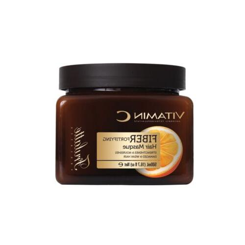 fortifying vitamin c hair mask for damaged