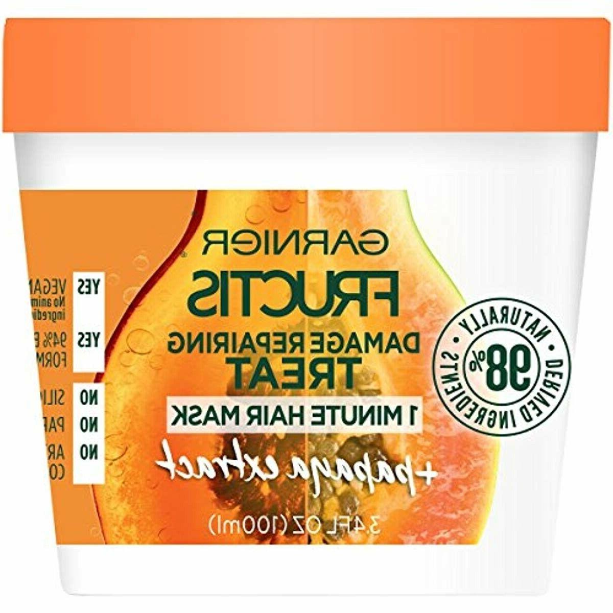 fructis damage repairing treat 1 minute hair