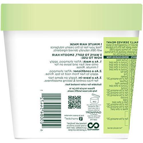 Garnier Smoothing Treat 1 Minute Hair + Avocado 13.5 fl. oz.