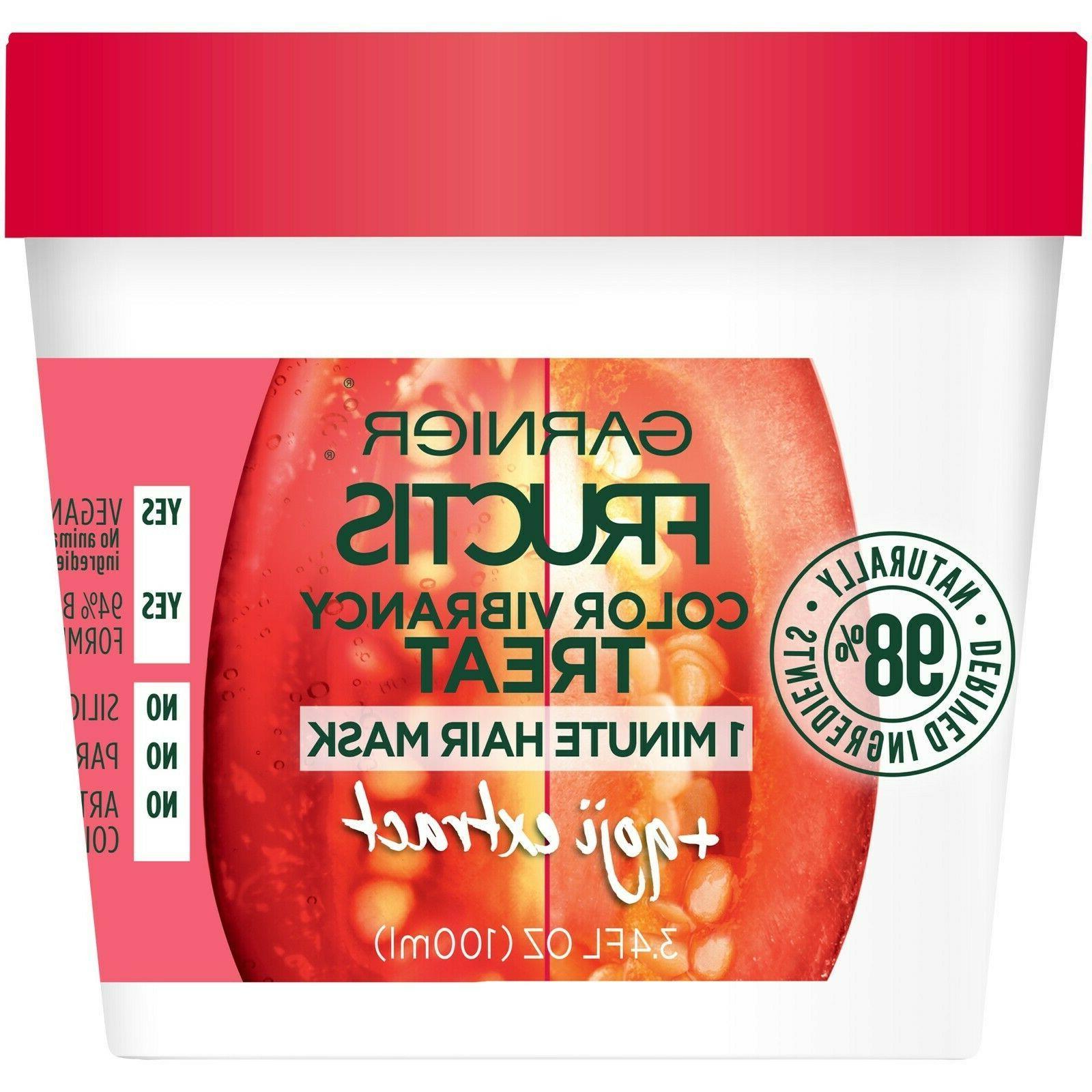 fructis vibrancy treat hair mask