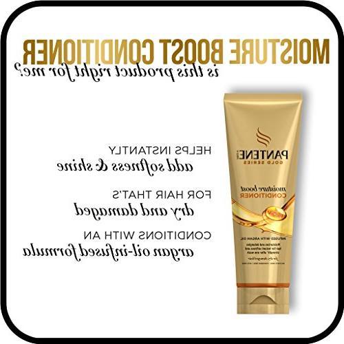 Pantene, Conditioner, Hair Mask, and Shine Hair Argan Pro-V Series, Natural and Textured Hair