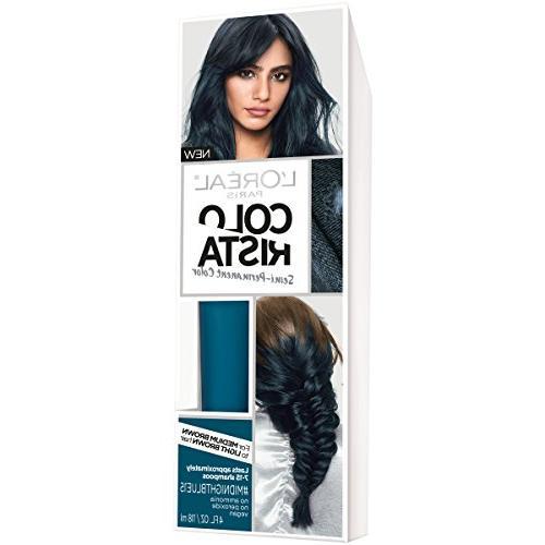 hair colorista semi permanent brunette