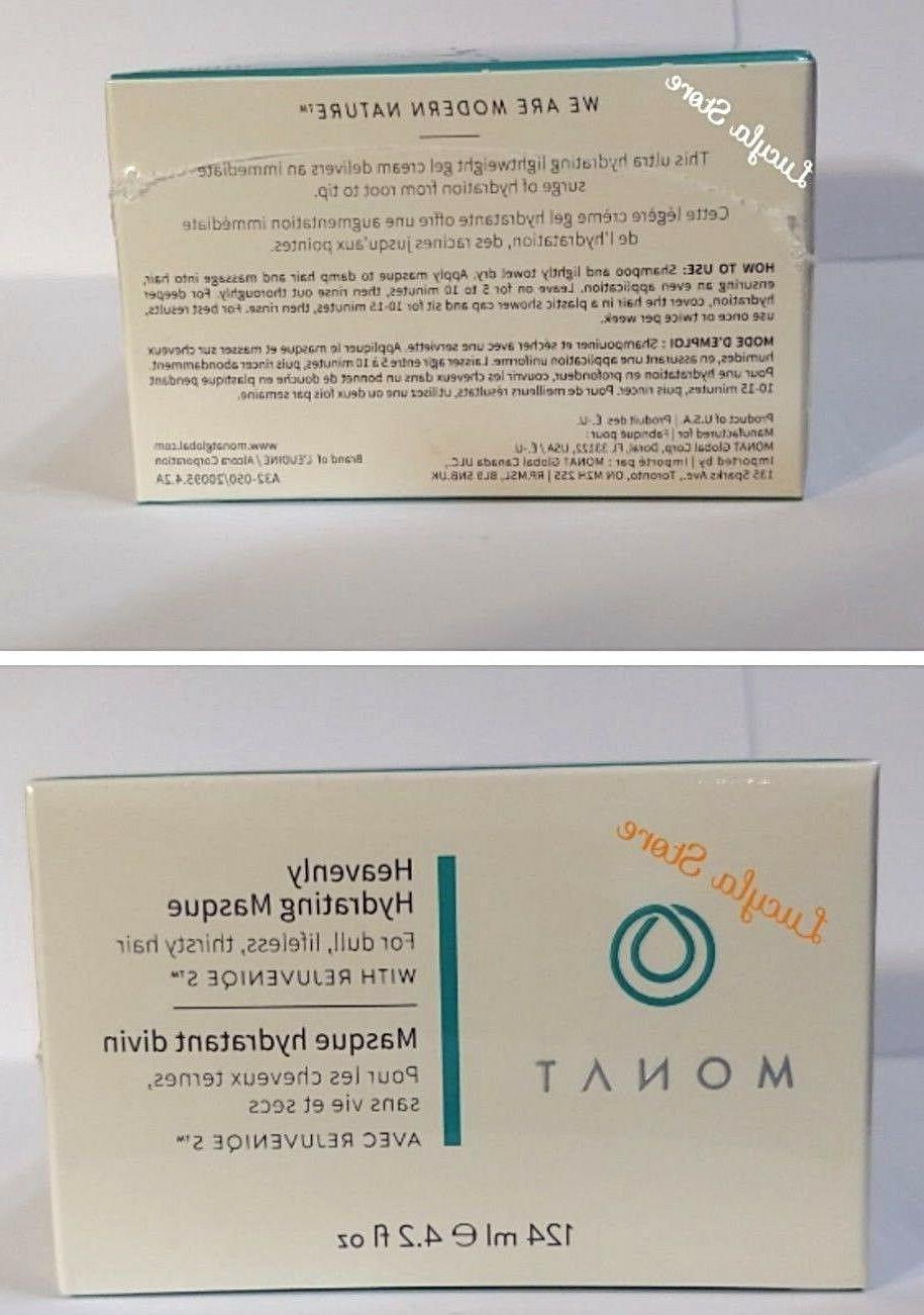 Monat Mask Heavenly Hydrating 100% New