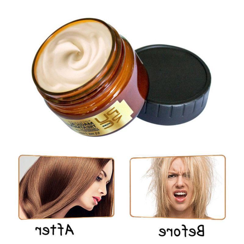 Hair Mask Care Dry Damaged Keratin Repair