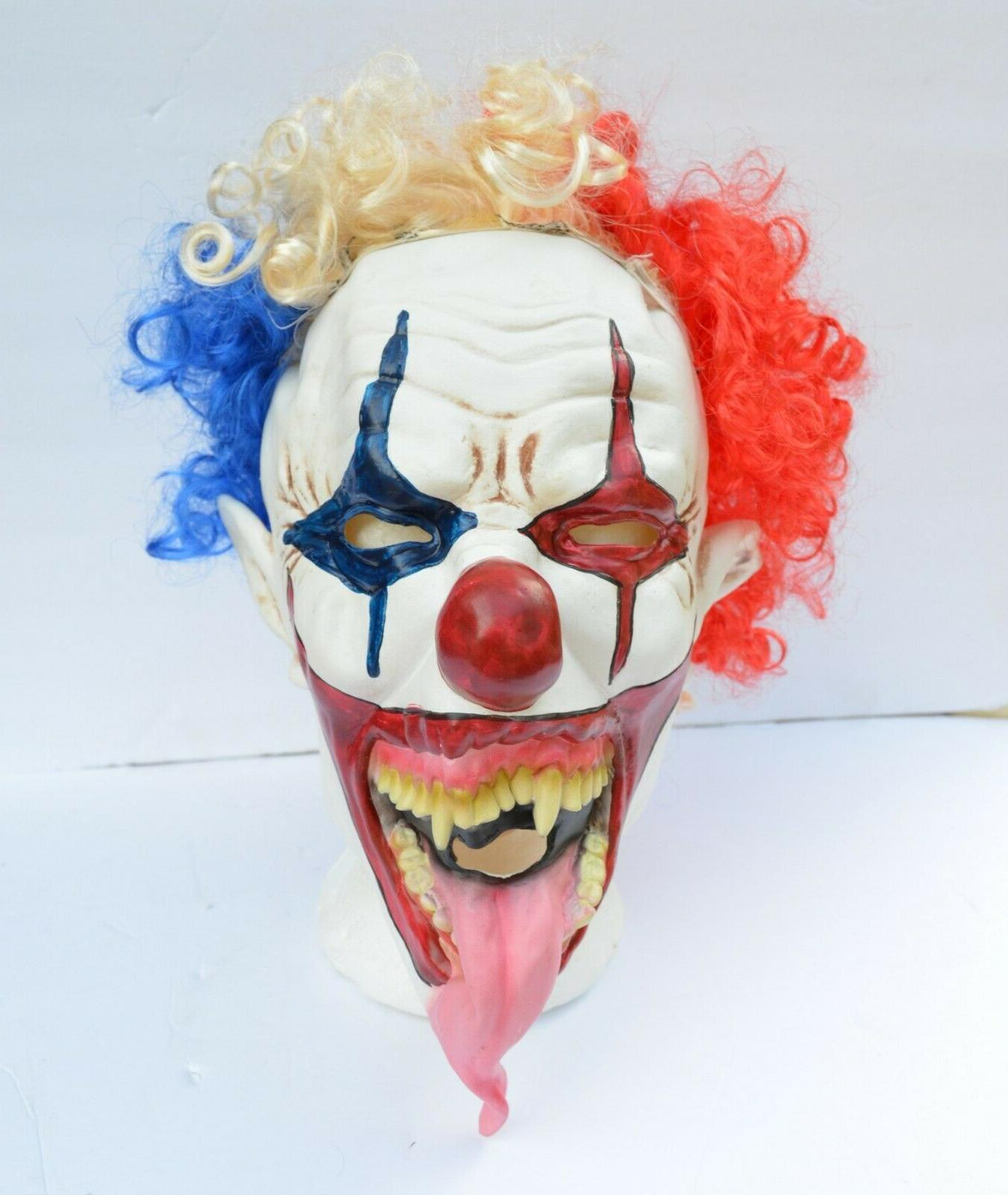 Halloween Hair Mask Scary Tongue DEVILISH
