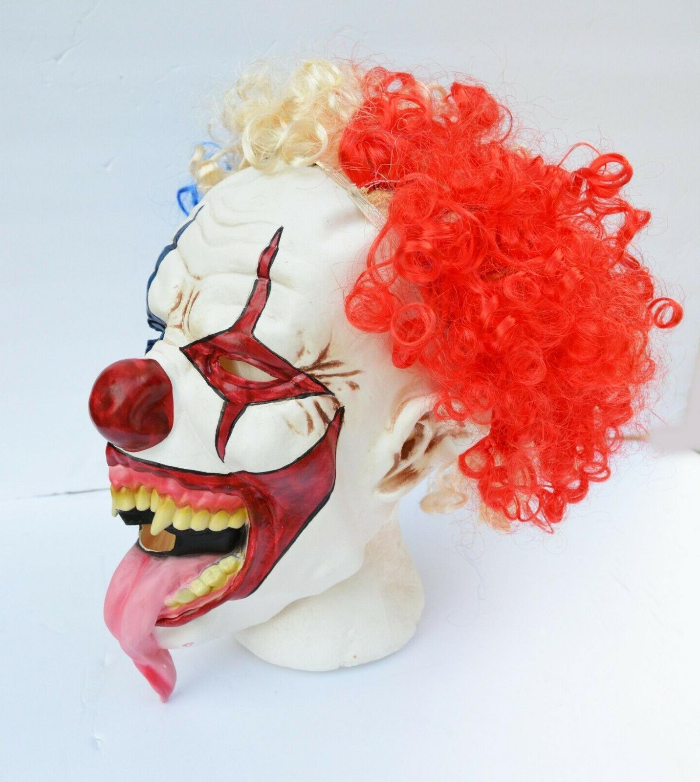 Halloween Hair Costume Scary Tongue