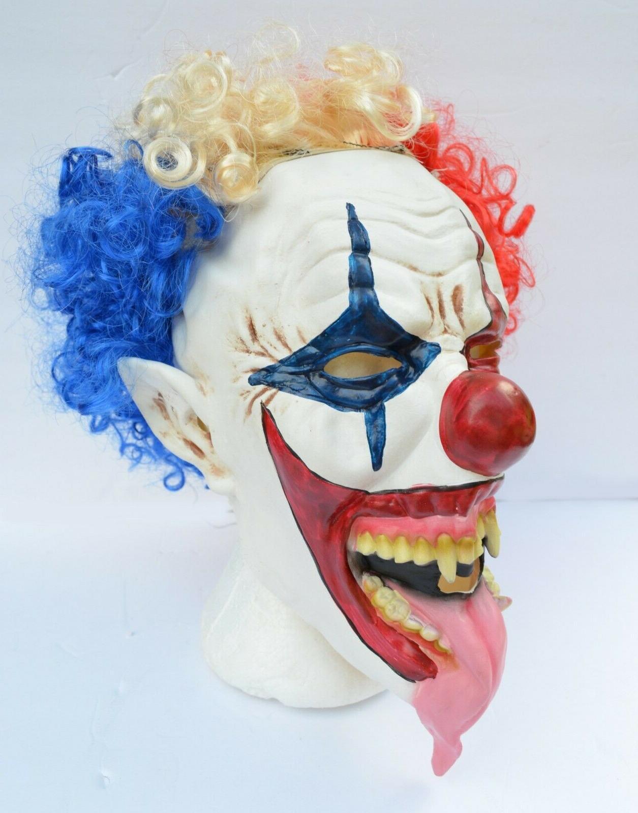 Halloween Clown with Hair Tongue CLOWN