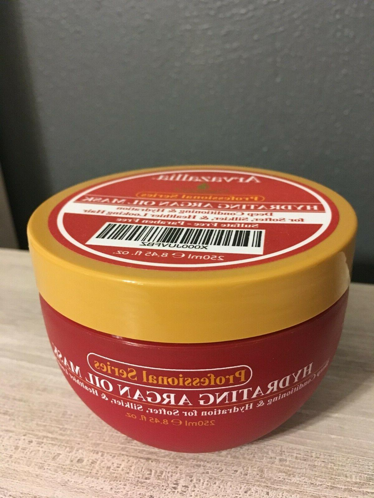 Arvazallia Hydrating Argan Oil Hair Mask 8.45 fl. oz.
