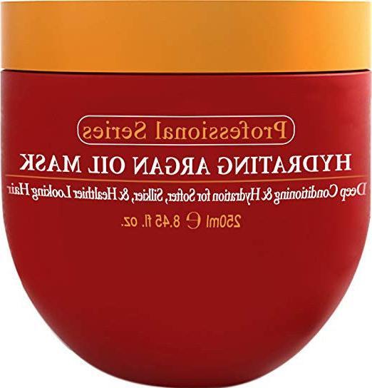 hydrating argan oil hair mask and deep
