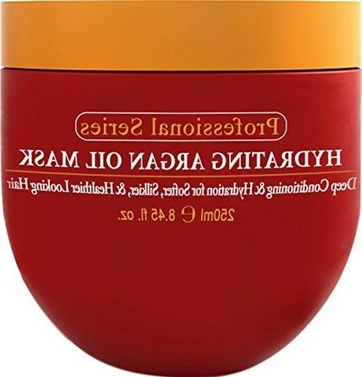 hydrating argan oil hair mask deep conditioner