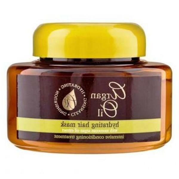 HYDRATING HAIR MASK WITH MOROCCAN ARGAN OIL EXTRACT CONDITIO