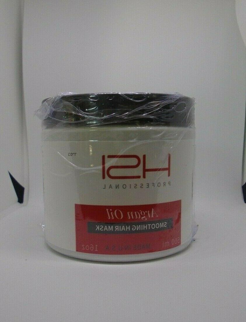 HSI Hydrating smoothing Anti-Frizz Mask all with a, c, & d. silky, healthy hair. in USA. no more split ends