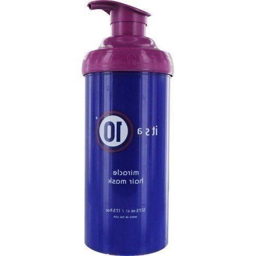 Its a 10 Miracle Hair Mask Hair And Scalp Treatments 17.5 oz