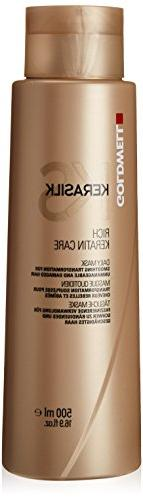 Goldwell Kerasilk Rich Keratin Care Daily Mask for Unisex, 1
