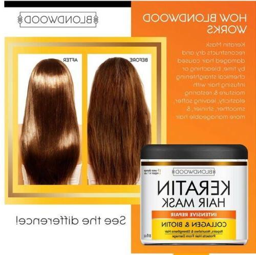 Blondwood Keratin Biotin Hair oz