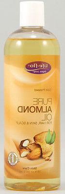 Life Flo Almond Oil Pure 16 Fz
