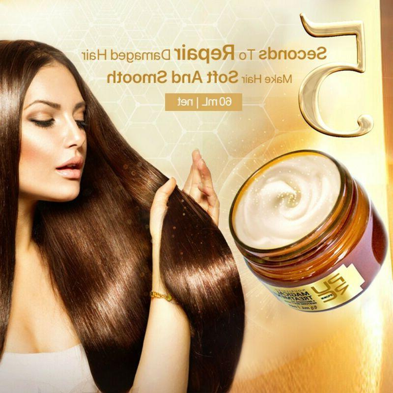 purc magical keratin hair treatment mask 5seconds