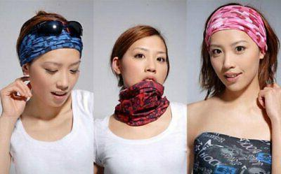 Multi-function tube face mask band bicycle JAPAN