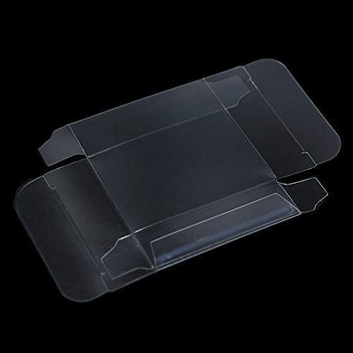 Multiple Usage Retail PVC Favor Transparent Decorative Accessories Container