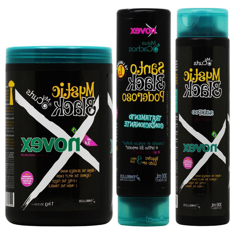 mystic black shampoo conditioner 10 1oz hair