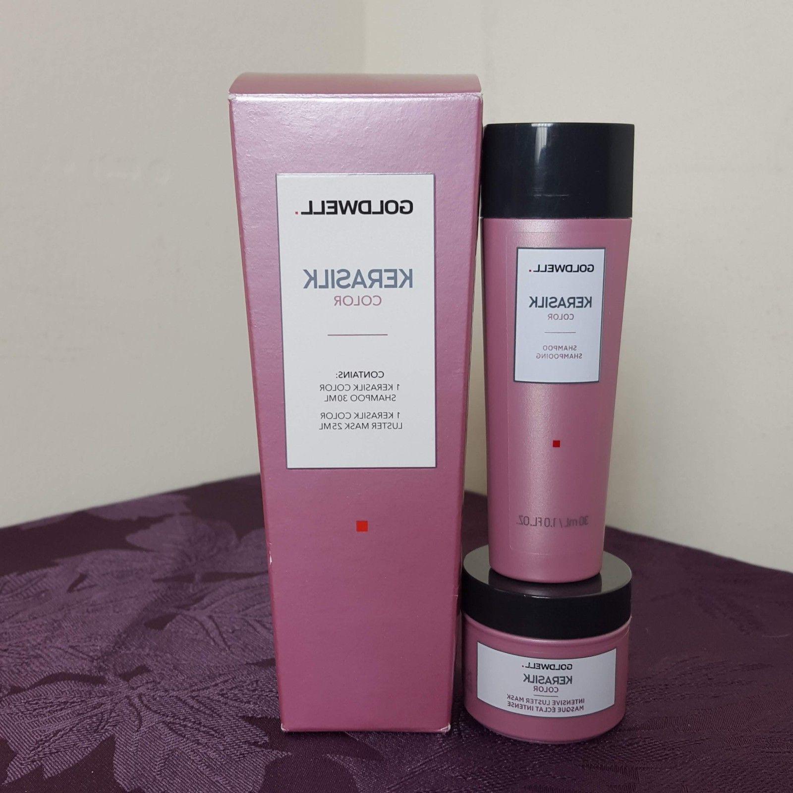 new kerasilk color travel set 1oz shampoo