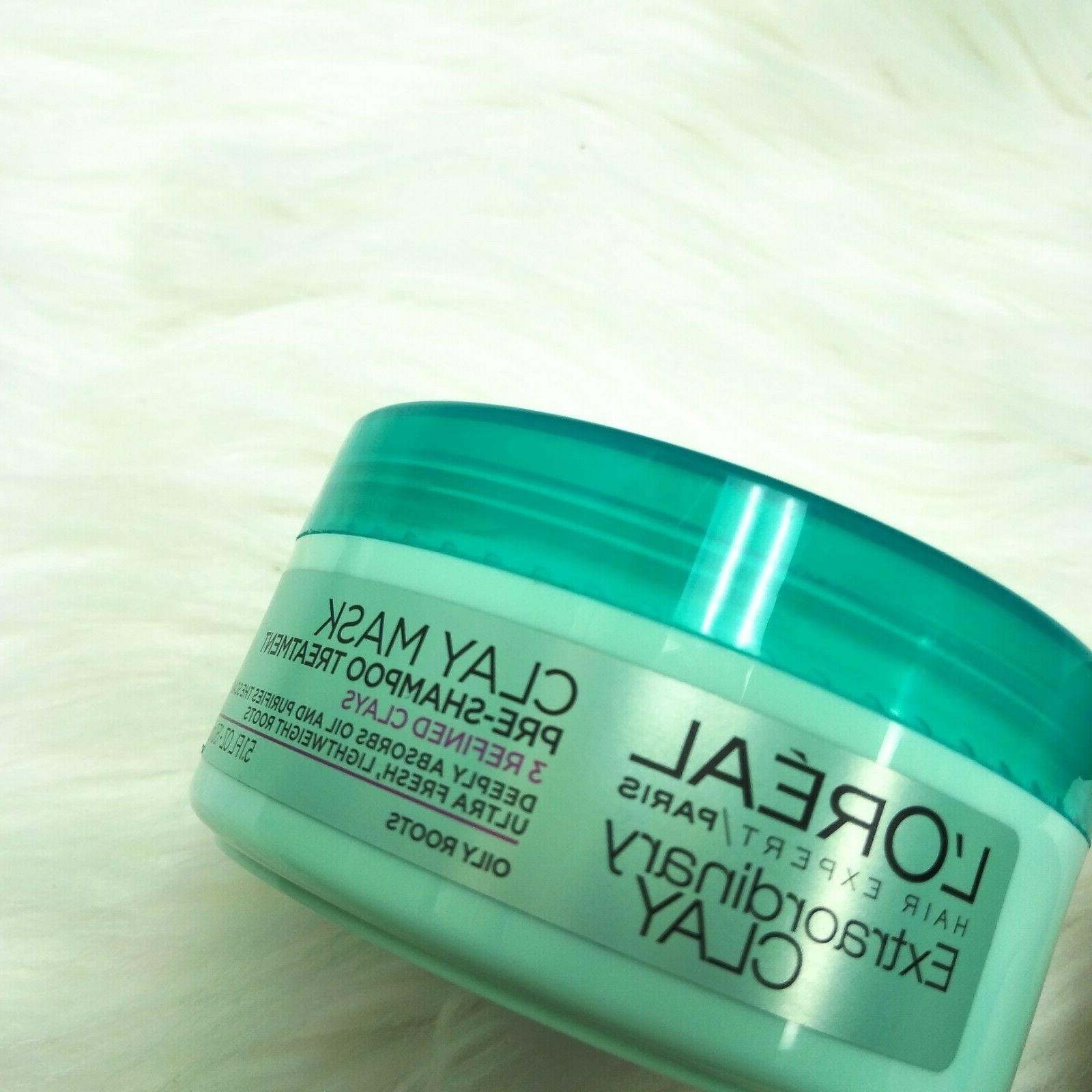 New PARIS Expert Extraordinary Clay Pre-Shampoo Mask, 5.1 fl