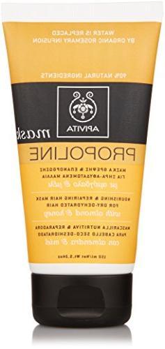 Apivita Nourishing and Repairing Hair Mask, 5.24 Ounce
