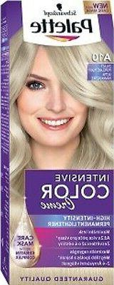 Schwarzkopf Palette Color Creme A10 Ash Blonde Hair Dye Plat