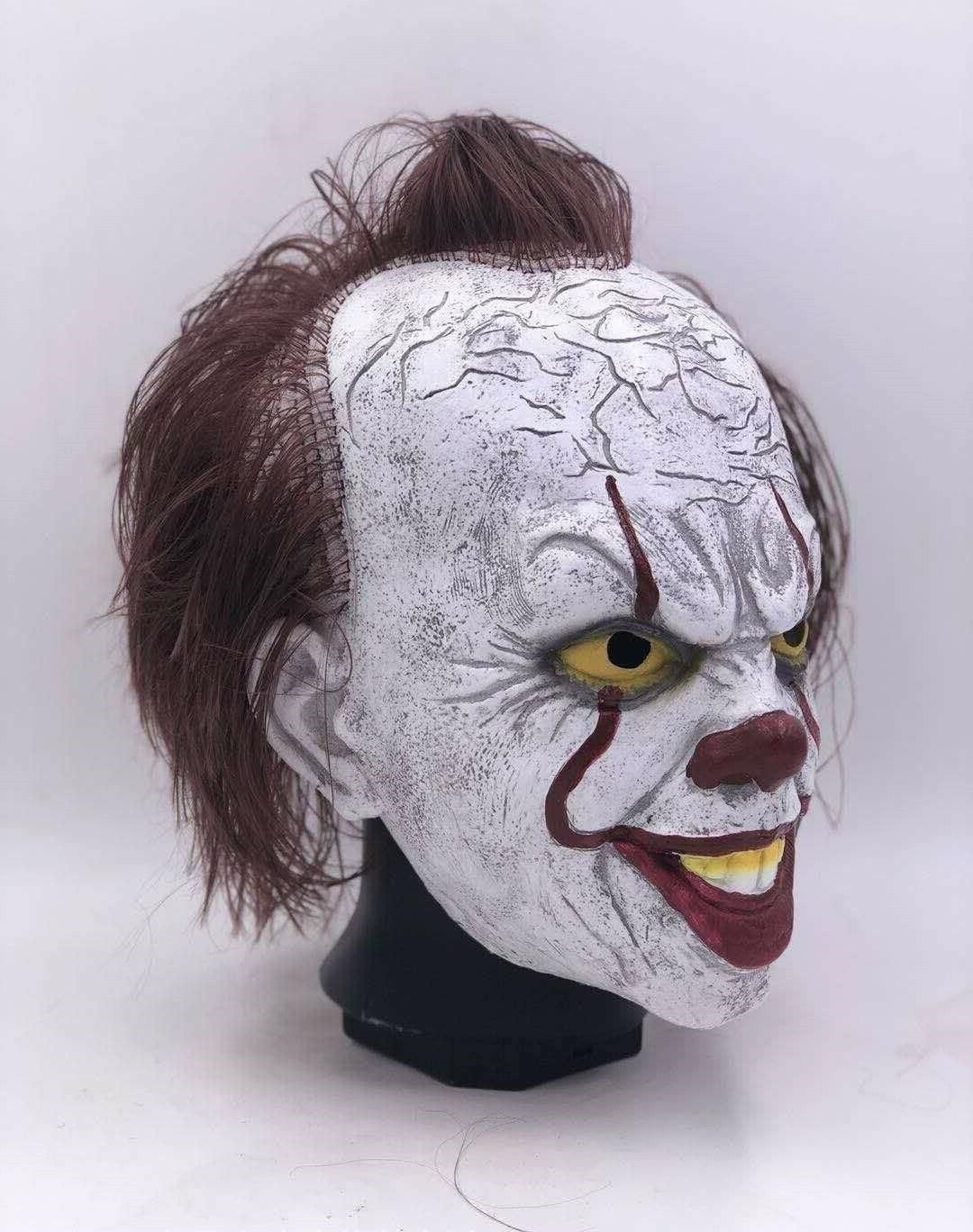 Pennywise Full w/Hair Cosplay Halloween Costume