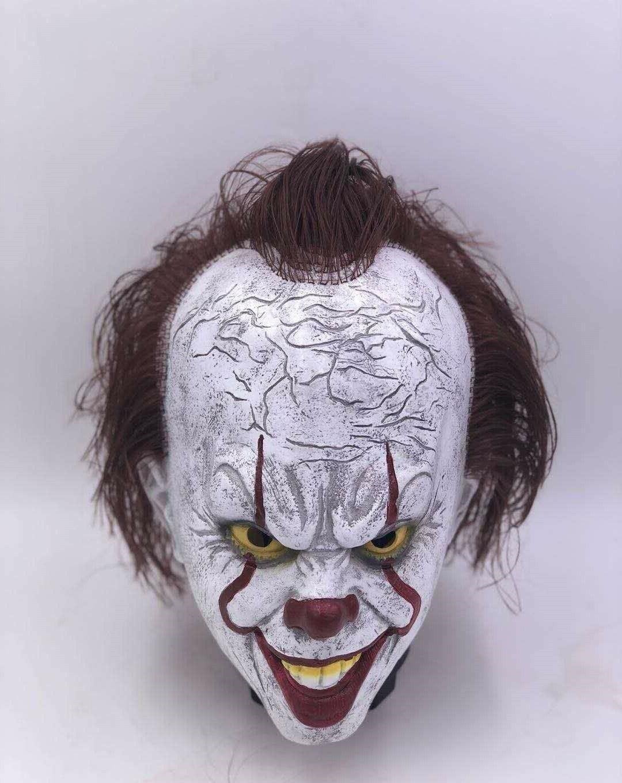 Pennywise w/Hair Horror Clown