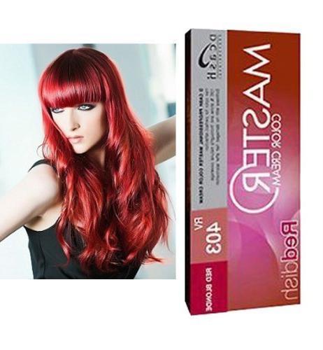 permanent hair dye
