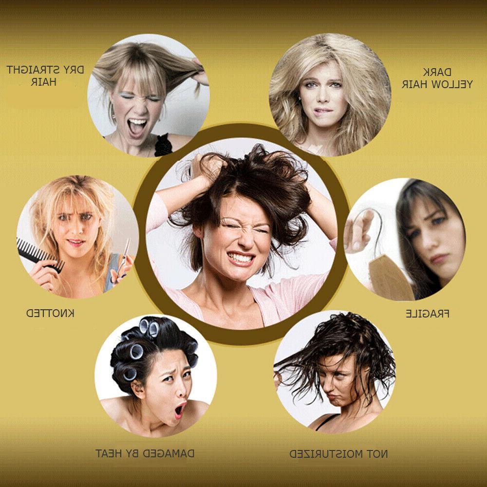 Pro Dry Moisturizing Maintenance Keratin Repair Hair Mask 2pcs