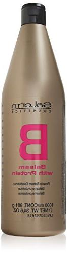 Salerm Protein Balsamo Conditioner, 34.6 oz