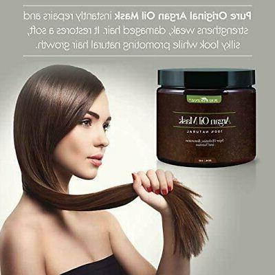 Argan Hair Mask w/ Keratin 8 Oz