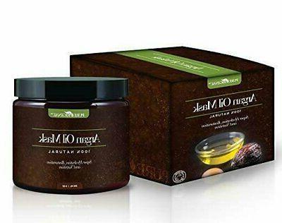 Argan Oil w/ Aloe Vera Keratin 8 Oz 100% Organic