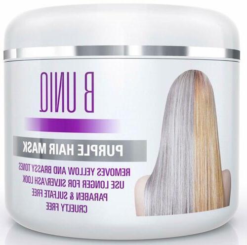 Purple For Blonde Platinum Silver Hair Yellow 7.27