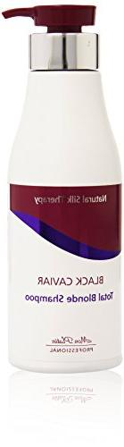 Mon Platin Natural Silk Therapy Total Blonde Shampoo for Blo