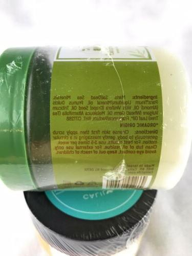 Calily Life Tea Foot Scrub & Oil Mask Conditioner