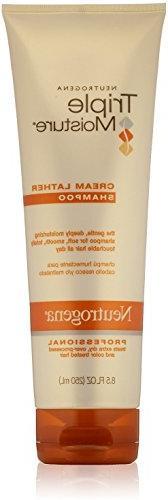 Neutrogena Triple Moisture Cream Lather Shampoo 8.5 Oz