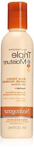 Neutrogena Triple Moisture Silk Touch Leave-In Cream 6 Oz